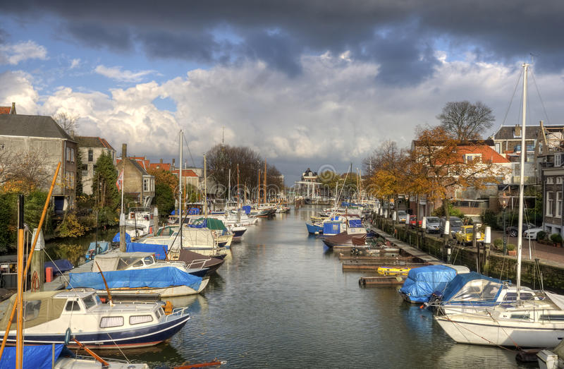 Porto de Dordrecht fotos de stock royalty free