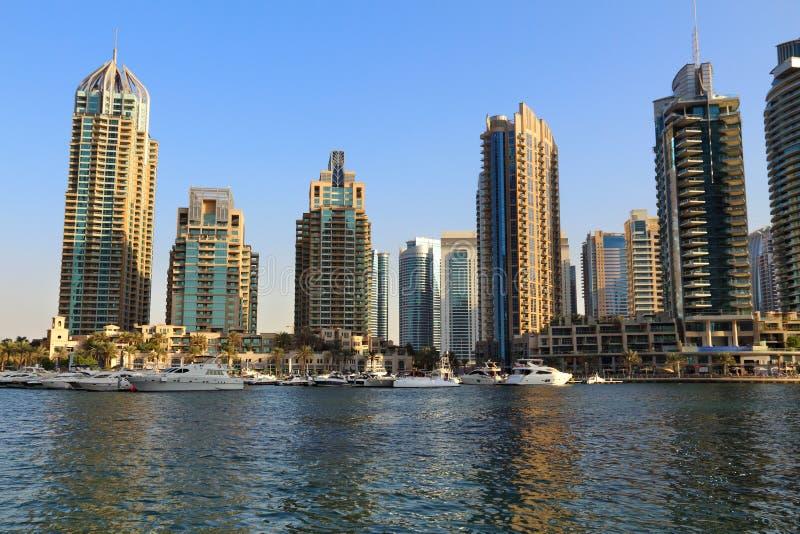 Porto de Dubai, UAE imagem de stock