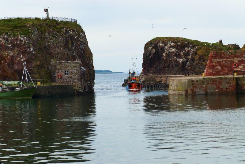 Porto de Dunbar foto de stock