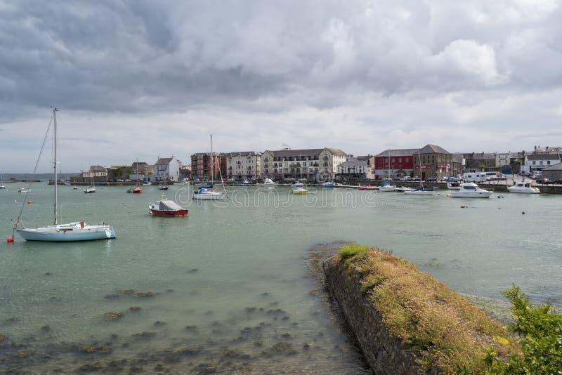 Porto de Dungarvan foto de stock royalty free