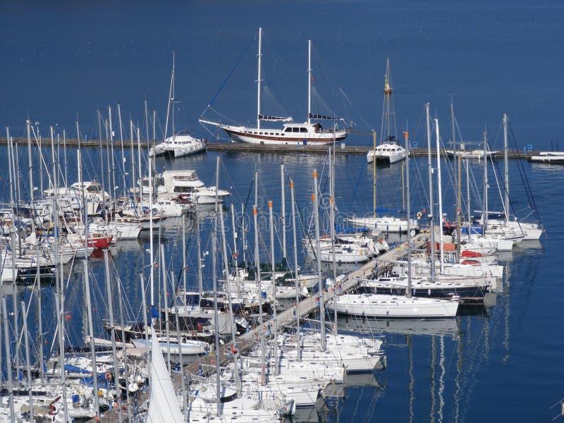 Porto de Fethiye imagem de stock royalty free