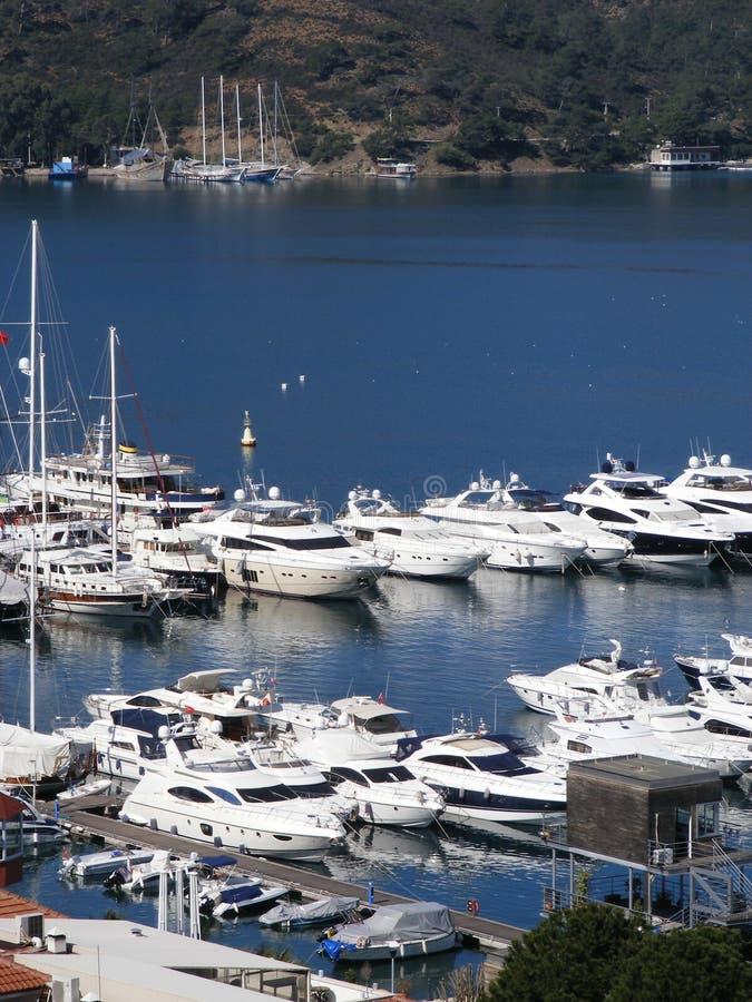 Porto de Fethiye fotografia de stock royalty free