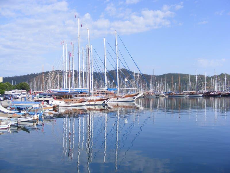 Porto de Fethiye, Turquia fotos de stock