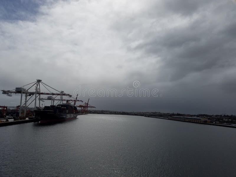 Porto de Fremantle fotografia de stock royalty free