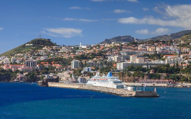 Porto de Funchal fotos de stock royalty free