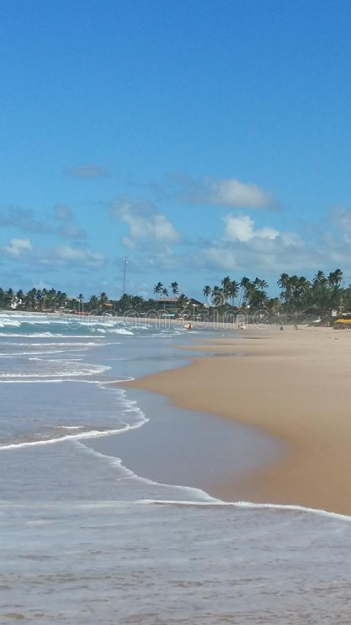 Porto de Galinhas, Pernambuco. Hot and wonderful waters royalty free stock photos