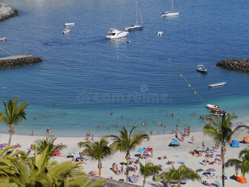 Porto de Gran Canaria fotografia de stock