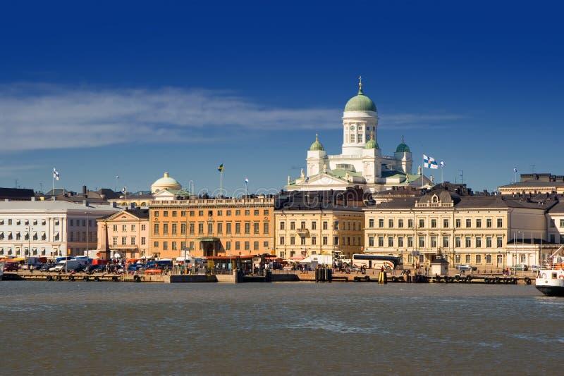 Porto de Helsínquia imagem de stock