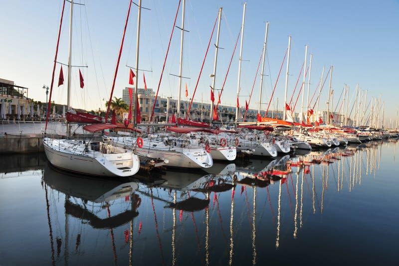 Porto de Herzliya - Israel fotos de stock royalty free