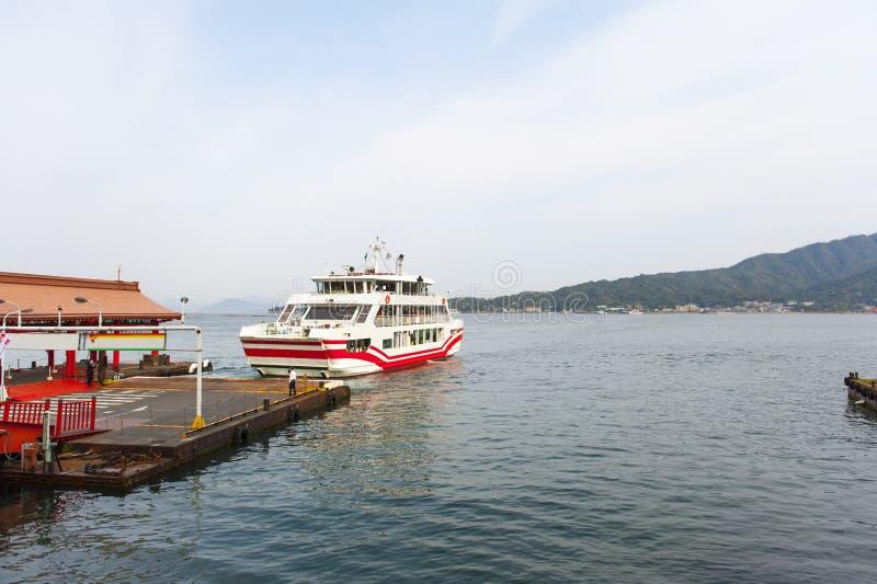 Porto de Hiroshima em japão imagens de stock royalty free