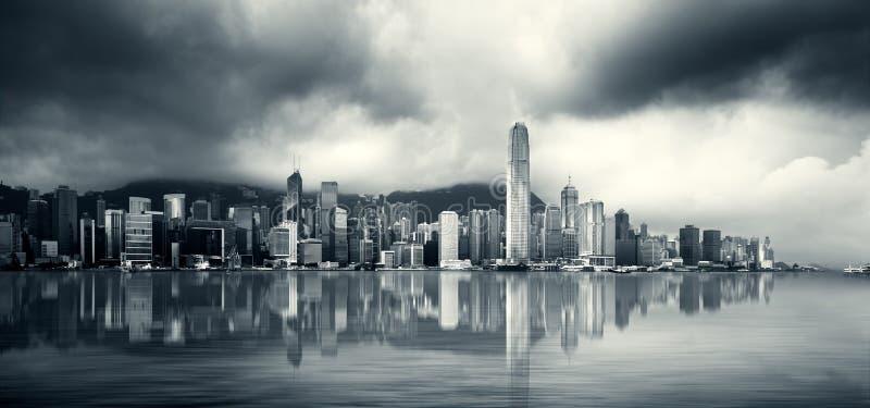Porto de Hong Kong fotografia de stock royalty free
