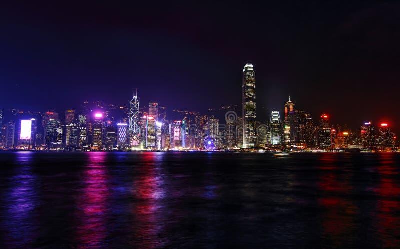 Porto de Hong Kong victoria fotografia de stock