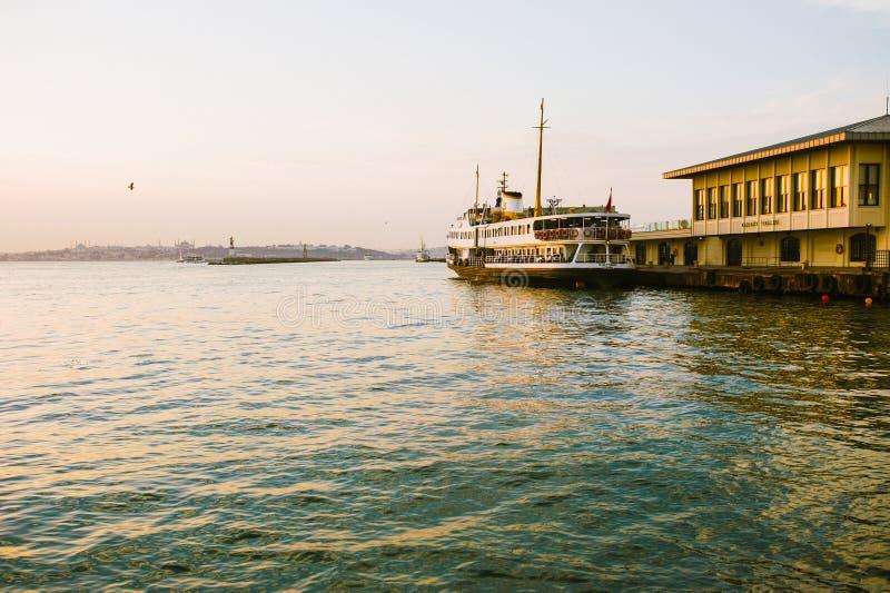 Porto de Istambul foto de stock