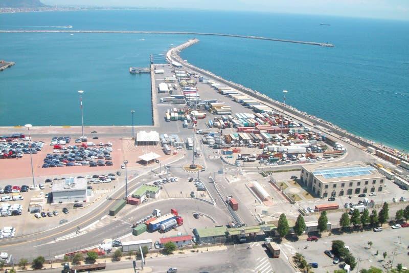 porto de Itália foto de stock