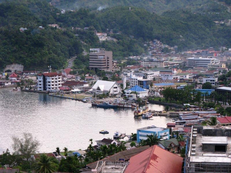 Porto de Jayapura fotos de stock