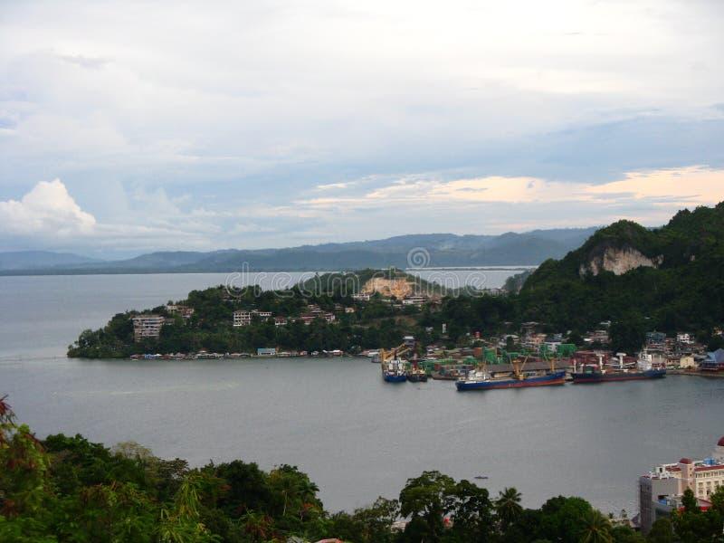 Porto de Jayapura imagens de stock