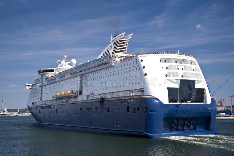 Porto de Kiel imagens de stock