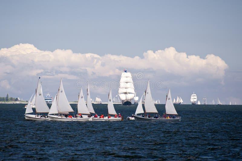 Porto de Kiel foto de stock