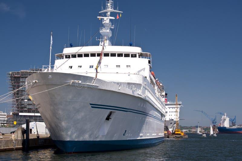 Porto de Kiel fotos de stock
