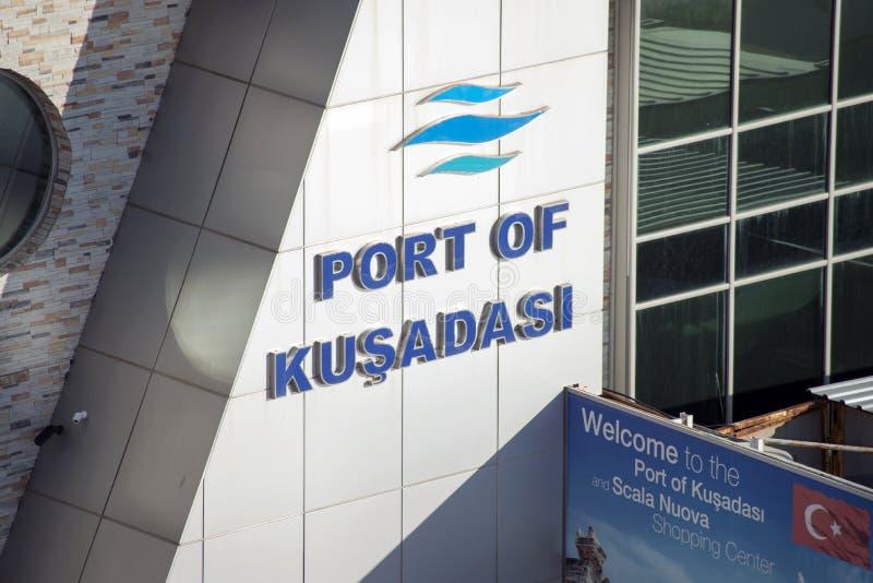Porto de Kusadasi, Turquia imagens de stock