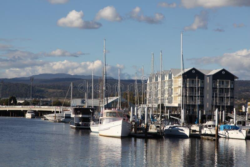 Porto de Launceston imagens de stock royalty free
