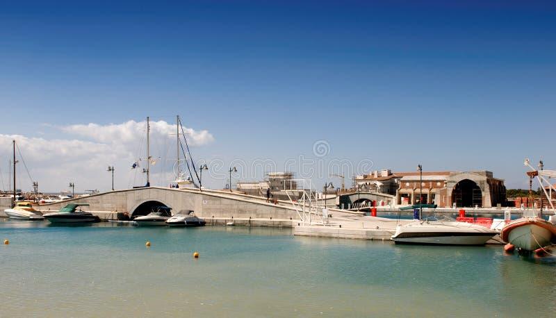 Porto de Limassol, Chipre imagem de stock
