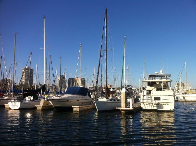 Porto de Long Beach imagem de stock