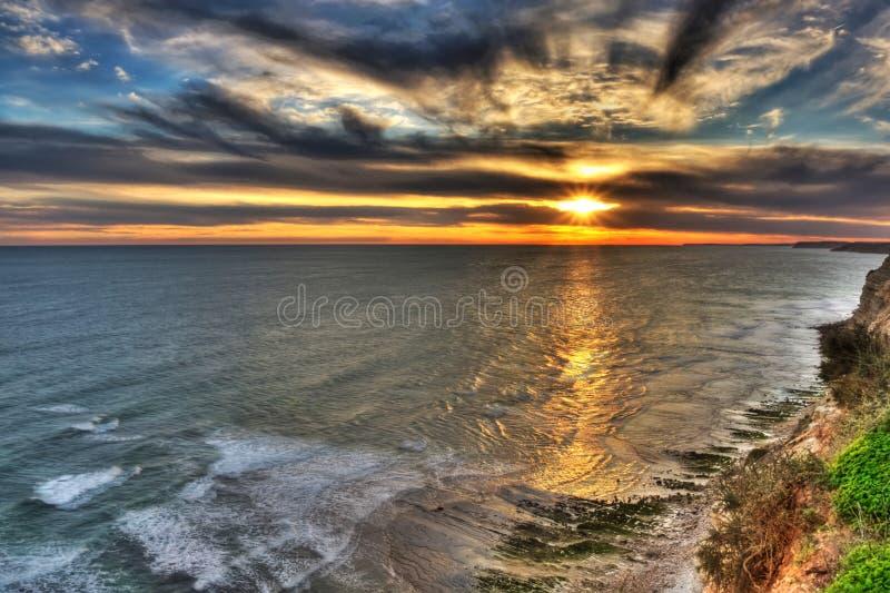 Porto de Mós beach stock photo