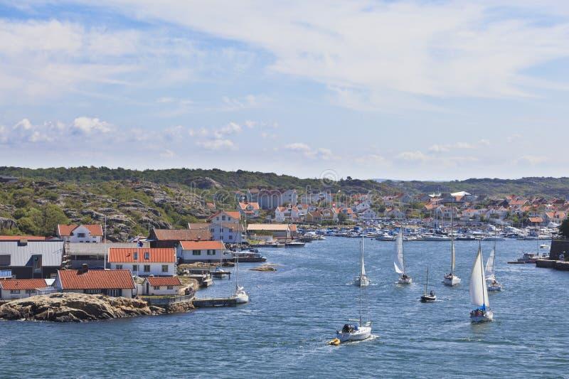 Porto de Marstrand fotografia de stock royalty free