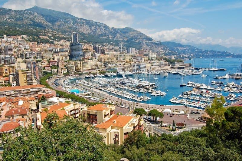 Download Porto de Monaco foto de stock. Imagem de edifício, golfo - 12802946