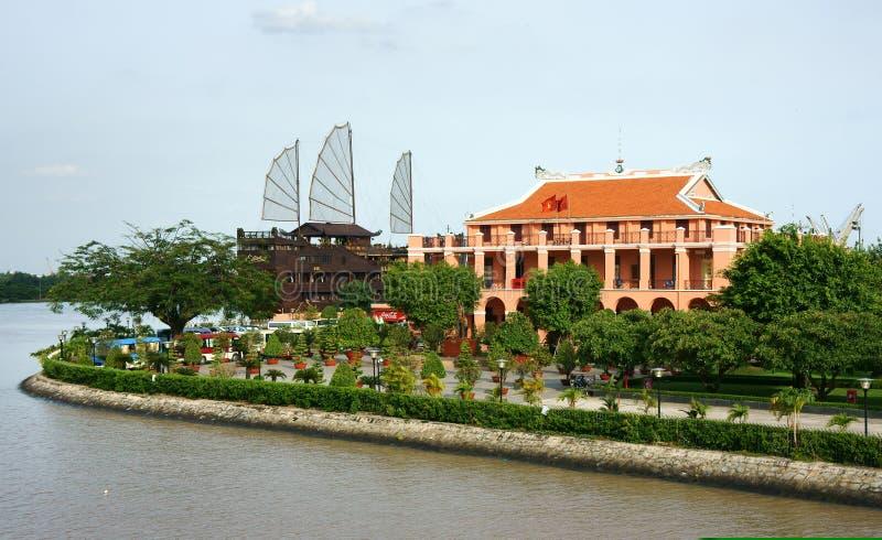 Porto de Nha Rong imagem de stock royalty free