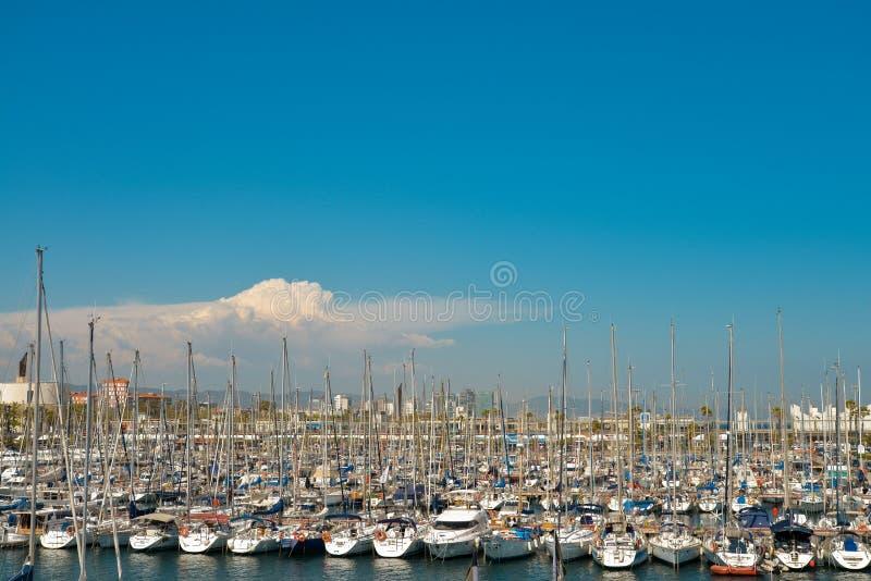 Porto de Olimpic do porto imagens de stock