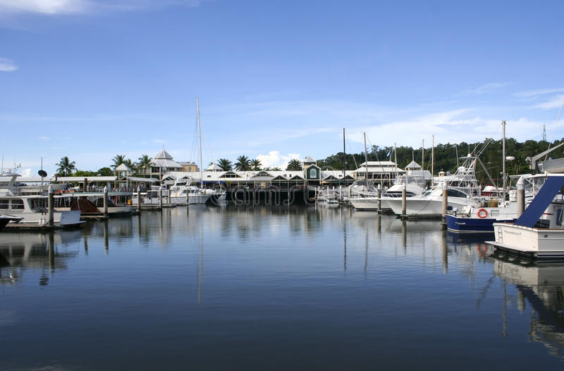 Porto de Port Douglas, Queensland, Austrália fotos de stock