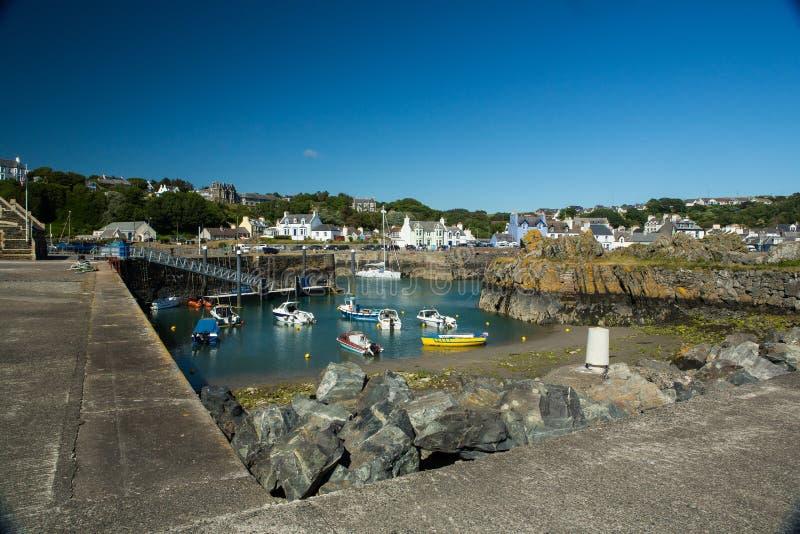 Porto de Portpatrick, Dumfries e Galloway, Escócia fotos de stock royalty free