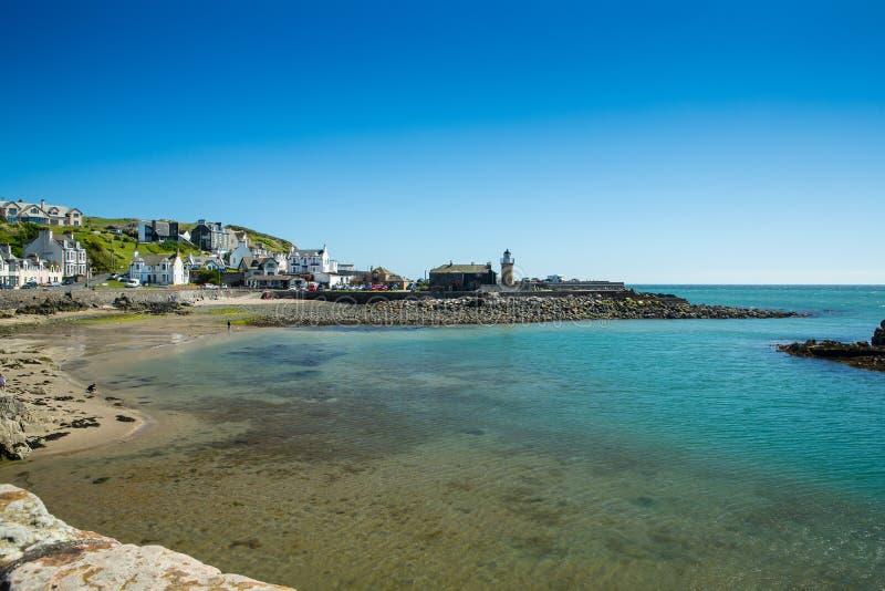 Porto de Portpatrick, Dumfries e Galloway, Escócia fotografia de stock royalty free