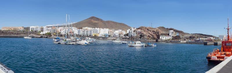 Porto de Restinga do La, ilha do EL Hierro foto de stock royalty free