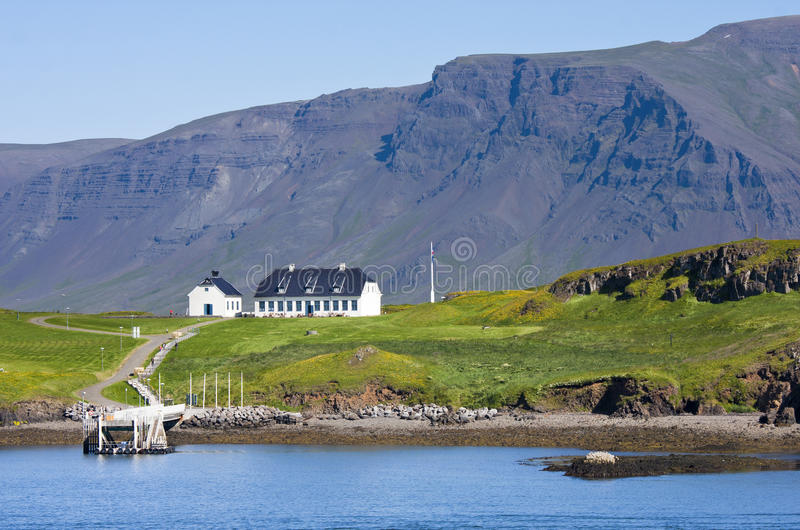 Porto de Reykjavik imagens de stock