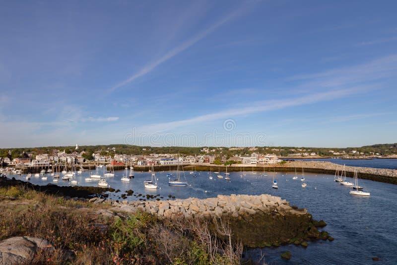 Porto de Rockport imagens de stock royalty free
