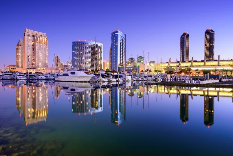 Porto de San Diego foto de stock