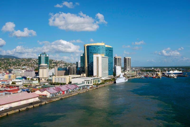 Porto - de - spain - Trinidad and Tobago imagem de stock