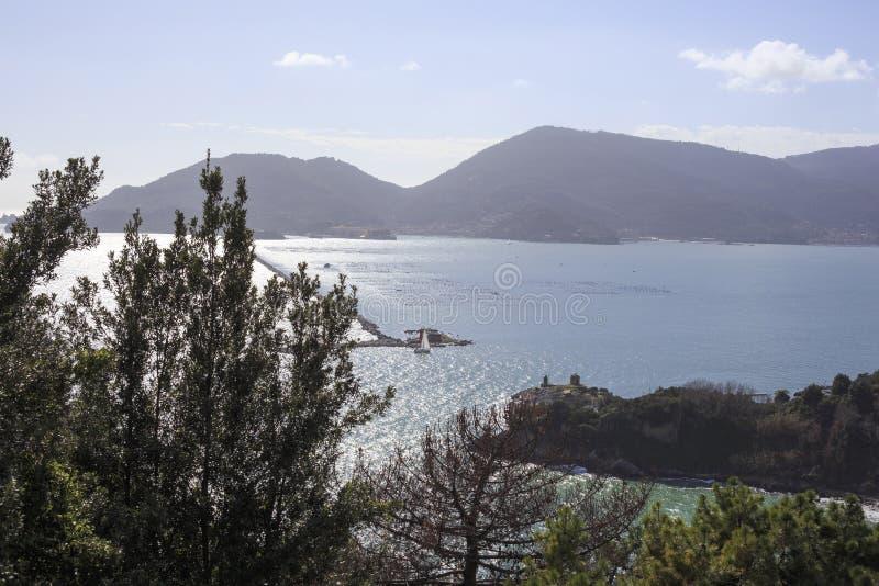 Porto de Spezia do La imagens de stock royalty free