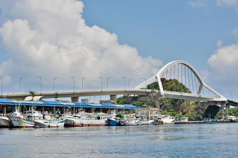 Porto de Suao em Taiwan imagem de stock royalty free
