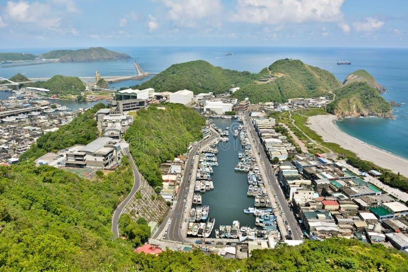 Porto de Suao em Taiwan fotografia de stock royalty free