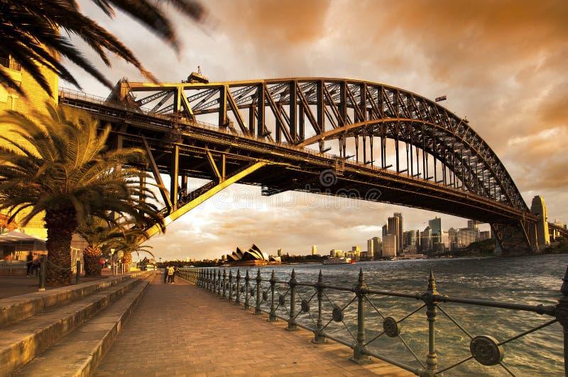 Porto de Sydney foto de stock