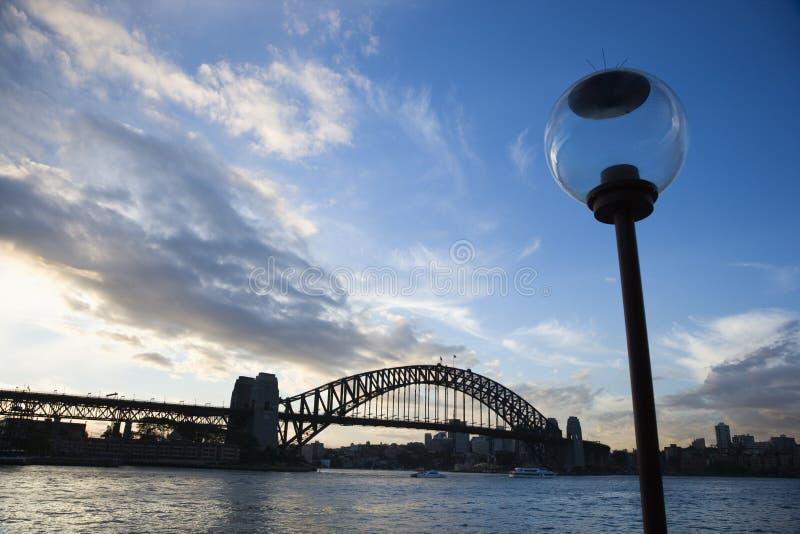 Porto de Sydney. imagens de stock royalty free