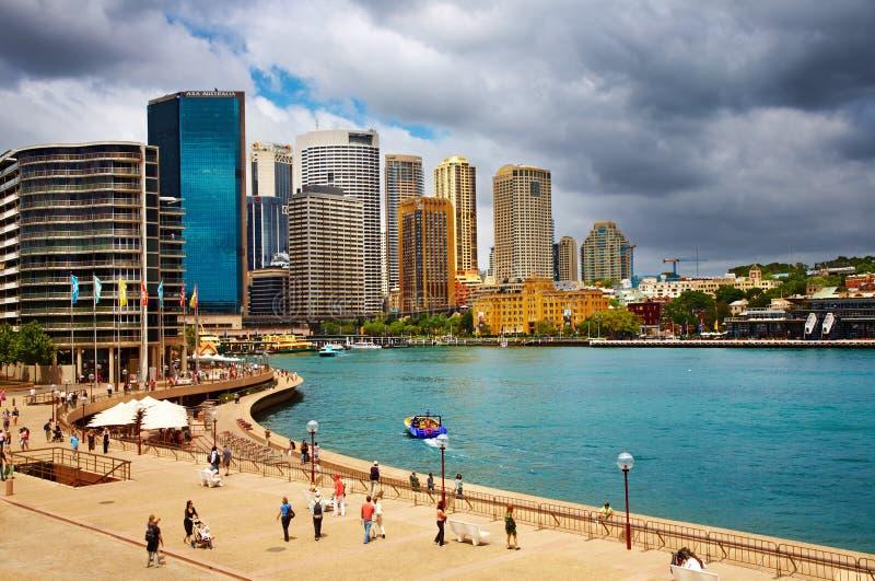 Porto de Sydney imagens de stock royalty free