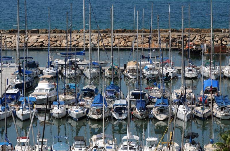 Porto de Telavive, Israel fotos de stock royalty free