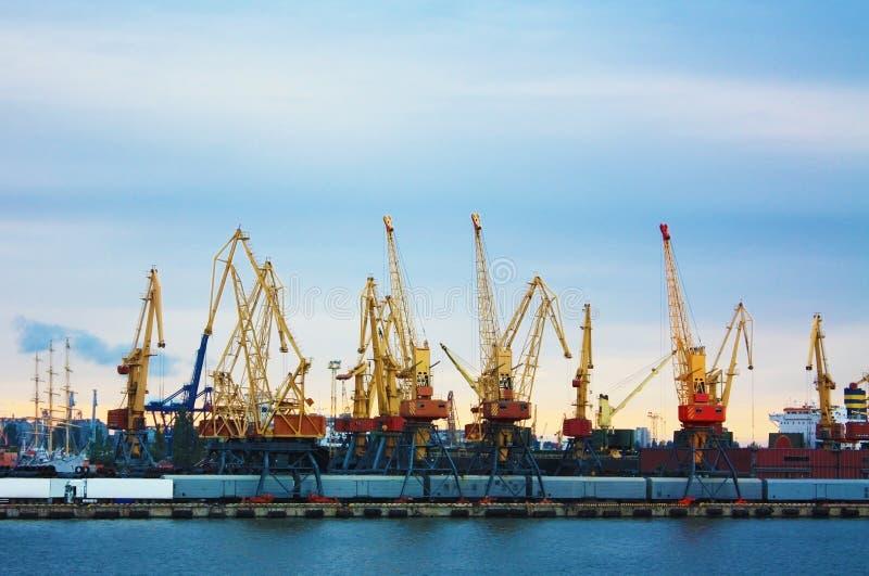 Porto de troca fotografia de stock royalty free