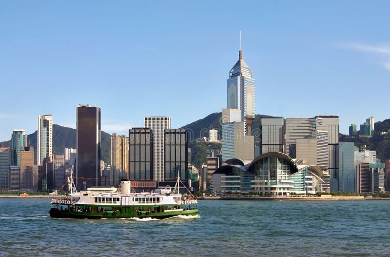 Porto de Victoria, Hong Kong imagens de stock royalty free