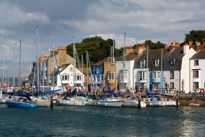 Porto de Weymouth em Dorset imagem de stock royalty free